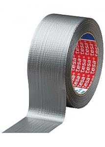 tesa® Vävtejp 50mmx25m silver (rulle om 25 m)