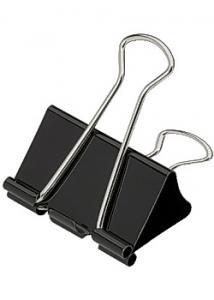 Pappersklämma foldback 41mm (fp om 12 st)