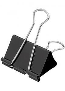 Pappersklämma foldback 50mm (fp om 12 st)