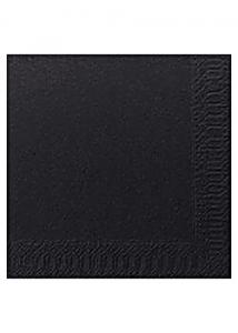 Duni Servett 3-lags 24x24cm svart (fp om 250 st)