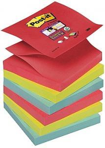 Post-it® Z-Notes SuperSticky Bora (fp om 6 block)