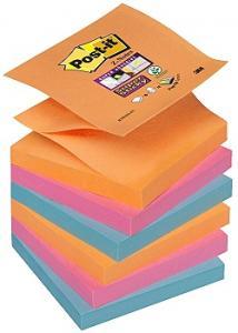 Post-it® Z-Notes SuperSticky Bangkok (fp om 6 block)