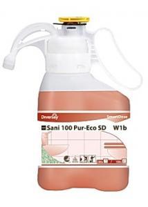 Diversey Sanitetsreng. Sani 100 Pur-Eco Smartdose (flaska om 1.4 l)