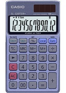 Casio Miniräknare SL-320TER+