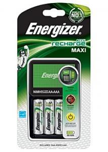 Energizer Batteriladdare Maxi + 4AA (set om 5 st)