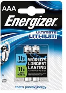 Energizer Batteri Ultimate AAA (fp om 2 st)