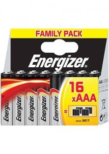 Energizer Batteri AAA (fp om 16 st)