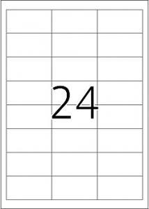 Etikett 64,6x33,8 (fp om 2400 st)