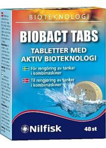 Nilfisk Luktförbättrare Biobact Tabs (fp om 48 st)