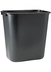 Rubbermaid Commercial Products Papperskorg svart 27L