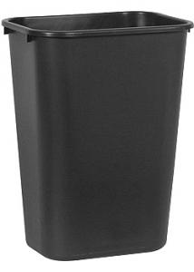 Rubbermaid Commercial Products Papperskorg svart 39L