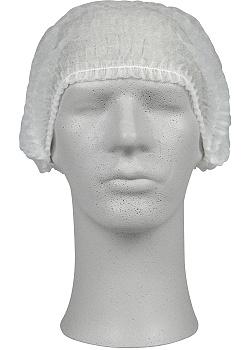 ABENA Hårnät vit non-woven (fp om 200 st)