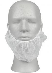 ABENA Skäggnät vit non-woven (fp om 100 st)