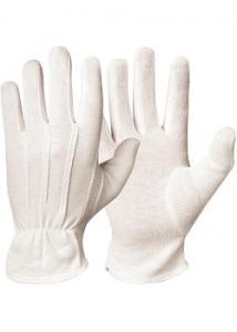 GranberG Bomullshandske vit trikå M (fp om 12 x 2 st)