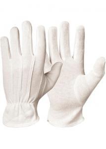 GranberG Bomullshandske vit trikå L (fp om 12 x 2 st)