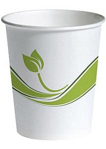Sustainable Earth by Pappersbägare Bio 25cl (fp om 80 st)