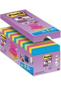Post-it® Super Sticky Z-bl. 76x76mm (fp om 16 block)