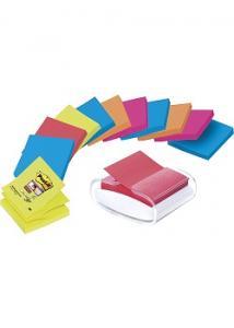 Post-it® Z-hållare inkl 12st Z-Notes (set om 13 st)
