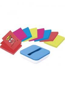 Post-it® Z-hållare inkl 8st Z- Notes (set om 9 st)