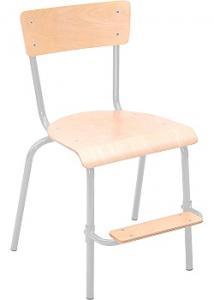 Elevstol m fotstöd sitthöjd 50cm