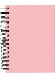 Burde Anteckningsbok A5, rosa