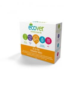 Ecover Maskindisk All-in-one tabs (fp om 70 st)