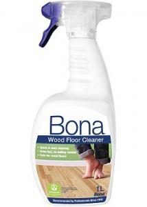 BONA Golvreng. lackat/vaxat trä spray 1L (flaska om 1000 ml)