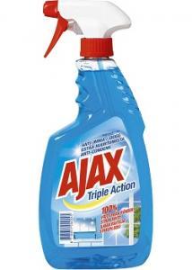 Ajax Fönsterputs Triple Action spr 750ml (flaska om 750 ml)