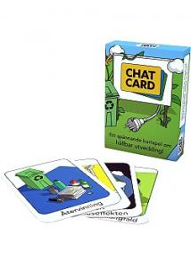 Gasuco Kortspel CHATCard hållbar utveckling