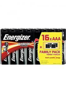 Energizer Batteri Power AAA (fp om 16 st)