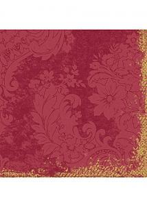 Duni Servett 3-lags 33x33cm Royal vinröd (fp om 250 blad)