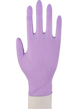 ABENA Handske nitril puderfri lila L (fp om 100 st)