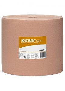 KATRIN Industritorkrulle Basic XL brun 1000m (rulle om 1000 m)