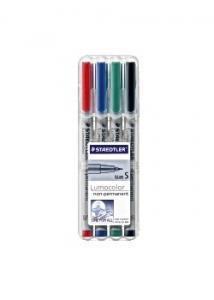 Lumocolor Box med 4 pennor LUMOCOLOR (fp om 4 st)