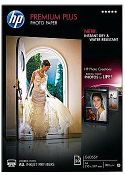 Hewlett Packard Fotopapper CR672A A4 300g (fp om 20 blad)