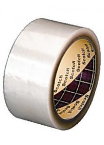 Scotch® Packtejp PP 66mx50mm transparent (rulle om 66 m)