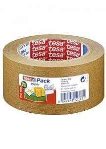 tesa® Packtejp papper brun 50mmx50m (rulle om 50 m)