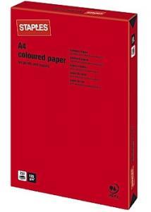 Kop.ppr A4 120g Röd (fp om 250 blad)