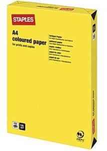 Kop.ppr A4 120g Gul (fp om 250 blad)