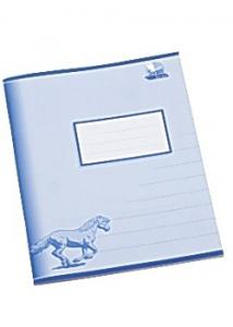 Skrivh.17x21cm linj. 14,5mm blå