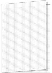 Skrivpapper A3 rut. 5x5mm vikt (fp om 250 blad)