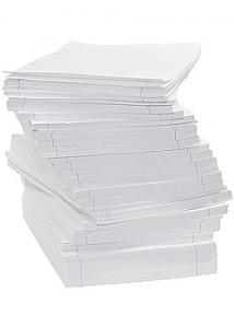 Lösblad A4 linjerat 8,5mm hålat (fp om 3000 blad)