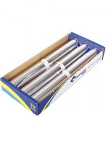 Aluminiumfolie refill 30cmx150m 14my (rulle om 150 m)