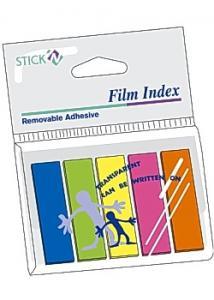 Stick'N Notes Stick'n Notes index 45x12mm 5 färg (fp om 5 st)