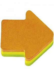 Post-it® Notes pil 3 färger (block om 225 blad)