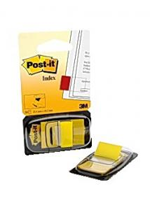 Post-it® Index 25x43mm gul (fp om 50 st)
