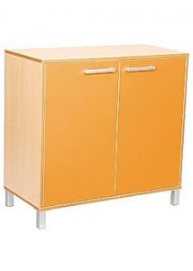 Dörrar t/förvaringshylla Prem orange (fp om 2 st)