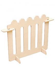 Lekskärm låg staket