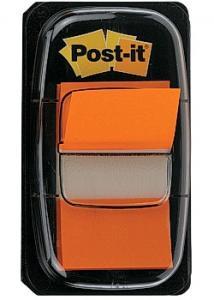 Post-it® Index 25x43mm orange (block om 50 st)