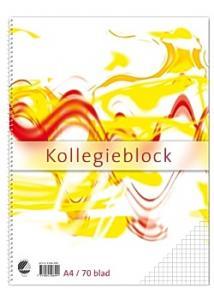 Kollegieblock A4 60g rutat TF